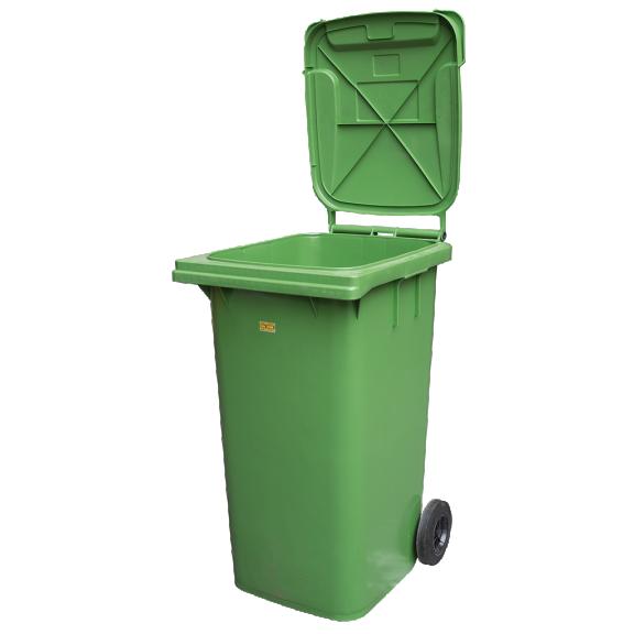 Kunststoff Mülltonne 240l Fahrbar Grün Wwwrosa Moserat