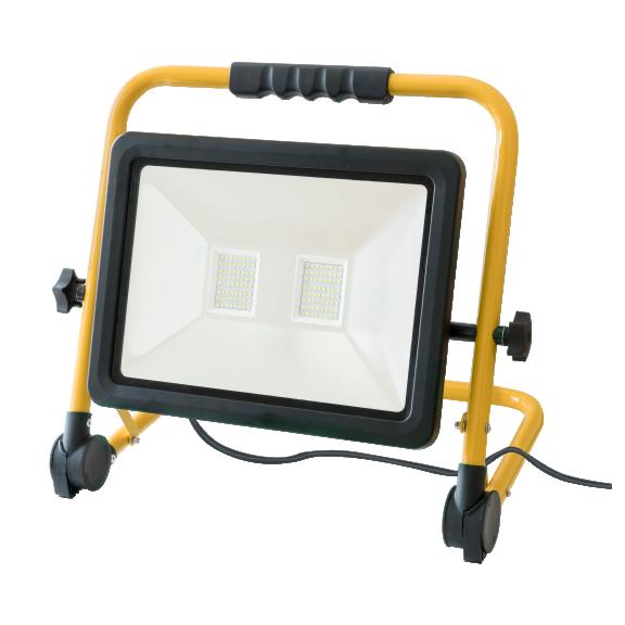 led scheinwerfer mobil 100w ip65 mit 5m kabel. Black Bedroom Furniture Sets. Home Design Ideas
